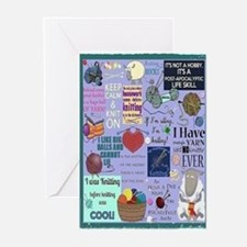 Knitters Card s Greeting Cards