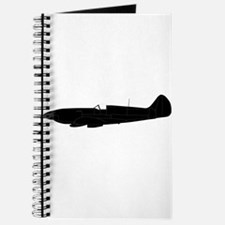 Fighter Plane Silhouette Journal