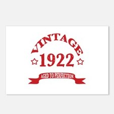 Vintage 1922 Aged to Perf Postcards (Package of 8)