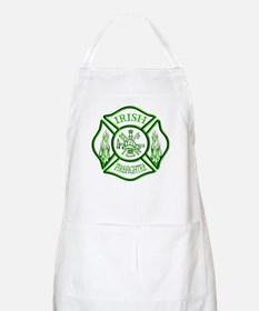 Irish Firefighter BBQ Apron