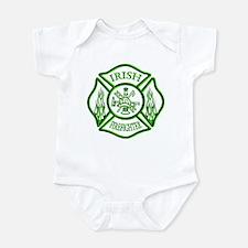 Irish Firefighter Infant Bodysuit