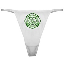 Irish Firefighter Classic Thong