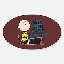 Charlie Brown - Good Grief! School Decal