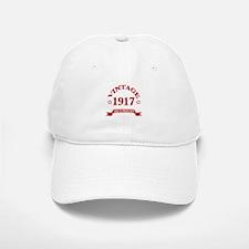 Vintage 1917 Aged to Perfection Baseball Baseball Cap