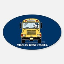 Snoopy - This Is How I Roll Stickers