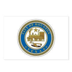 Houston City Seal Postcards (Package of 8)