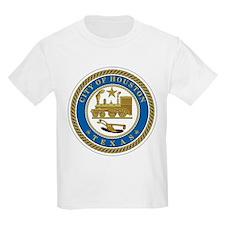 Houston City Seal Kids T-Shirt