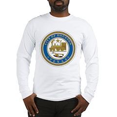 Houston City Seal Long Sleeve T-Shirt