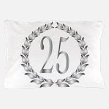 25th Anniversary Pillow Case
