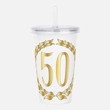 50th Anniversary Acrylic Double-wall Tumbler
