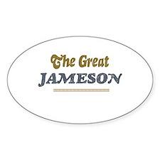 Jameson Oval Decal