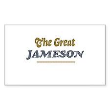 Jameson Rectangle Decal