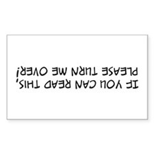 If you can read this Rectangle Decal