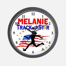 PERSONALIZE RUNNER Wall Clock