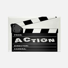 Action Movie Clapperboard Magnets