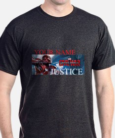 Team Iron Man Justice Personalizable T-Shirt