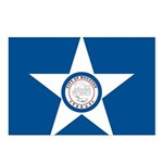 Houston Flag Postcards (Package of 8)