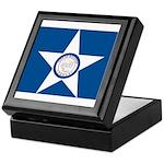 Houston Flag Keepsake Box