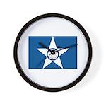 Houston Flag Wall Clock