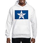 Houston Flag Hooded Sweatshirt