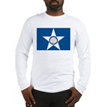 Houston Flag Long Sleeve T-Shirt
