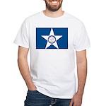 Houston Flag White T-Shirt