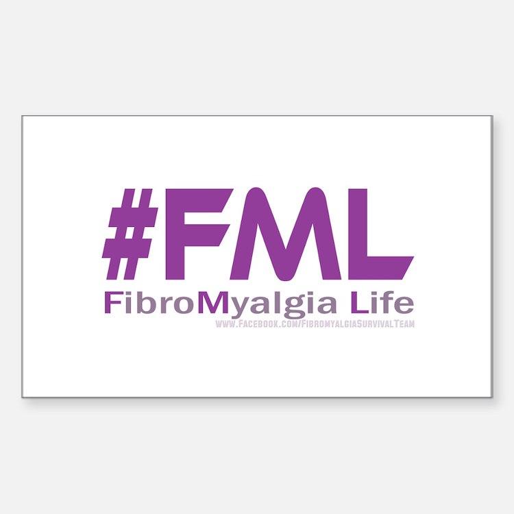 FibroMyalgia Life Decal