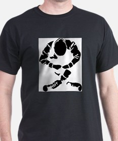 Sitting Skinhead T-Shirt