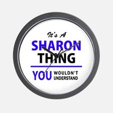 It's SHARON thing, you wouldn't underst Wall Clock