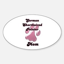 GSP Mom3 Oval Decal