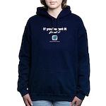 Flaunt it Women's Hooded Sweatshirt