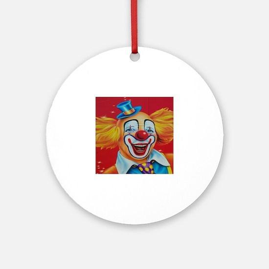 Unique Circus Round Ornament