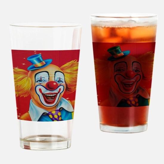 Cute Circus Drinking Glass
