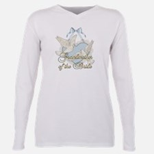 Cute Mother bride Plus Size Long Sleeve Tee