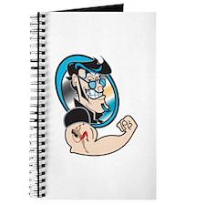 Retro Tattoo'ed (Inked) Stud Journal