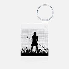 Singer on Stage Grung Keychains