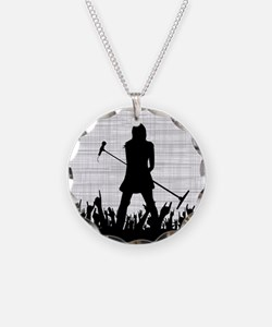 Singer on Stage Grung Necklace