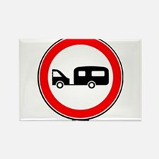 Caravan Traffic Sign Magnets