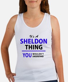 It's SHELDON thing, you wouldn't understa Tank Top