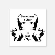 Sometimes a Cigar Sticker