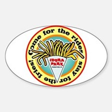 Idora Fries Oval Decal