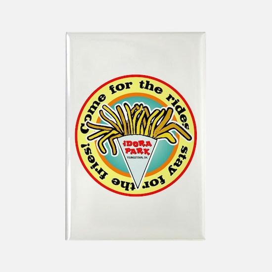 Idora Fries Rectangle Magnet