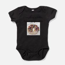 Unique Donuts Baby Bodysuit