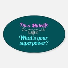 Super Midwife Decal