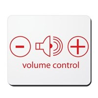 Volume Control Mousepad