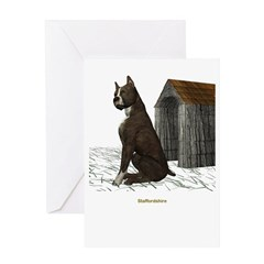 Staffordshire Greeting Card