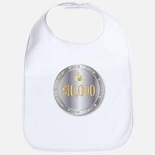 10000 Dollar Chip Bib