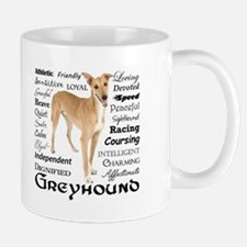 Greyhound Traits Mugs