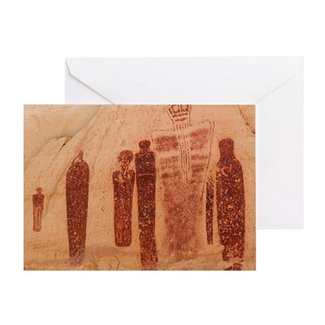 Great Gallery Pictographs Greeting Card