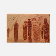 Great Gallery Pictographs Rectangle Magnet